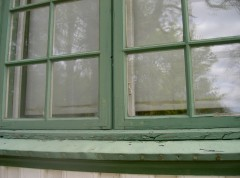 Fasade vindu før