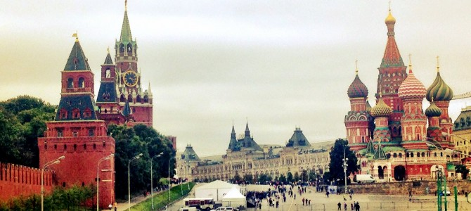 Moscow: city of the filthy rich, july 2014!