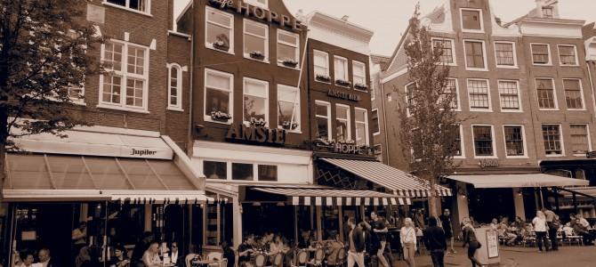 I Amsterdam, aug 2014!
