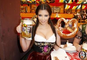 Kim Kardashian Visits Munich!