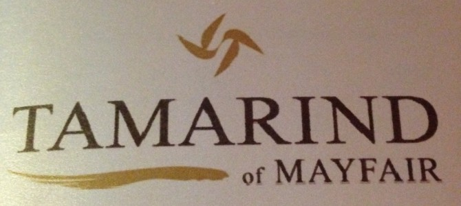 Tamarind of Mayfair!