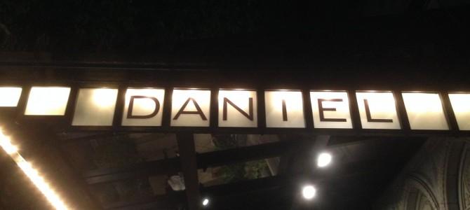 Daniel Boulud, New York!