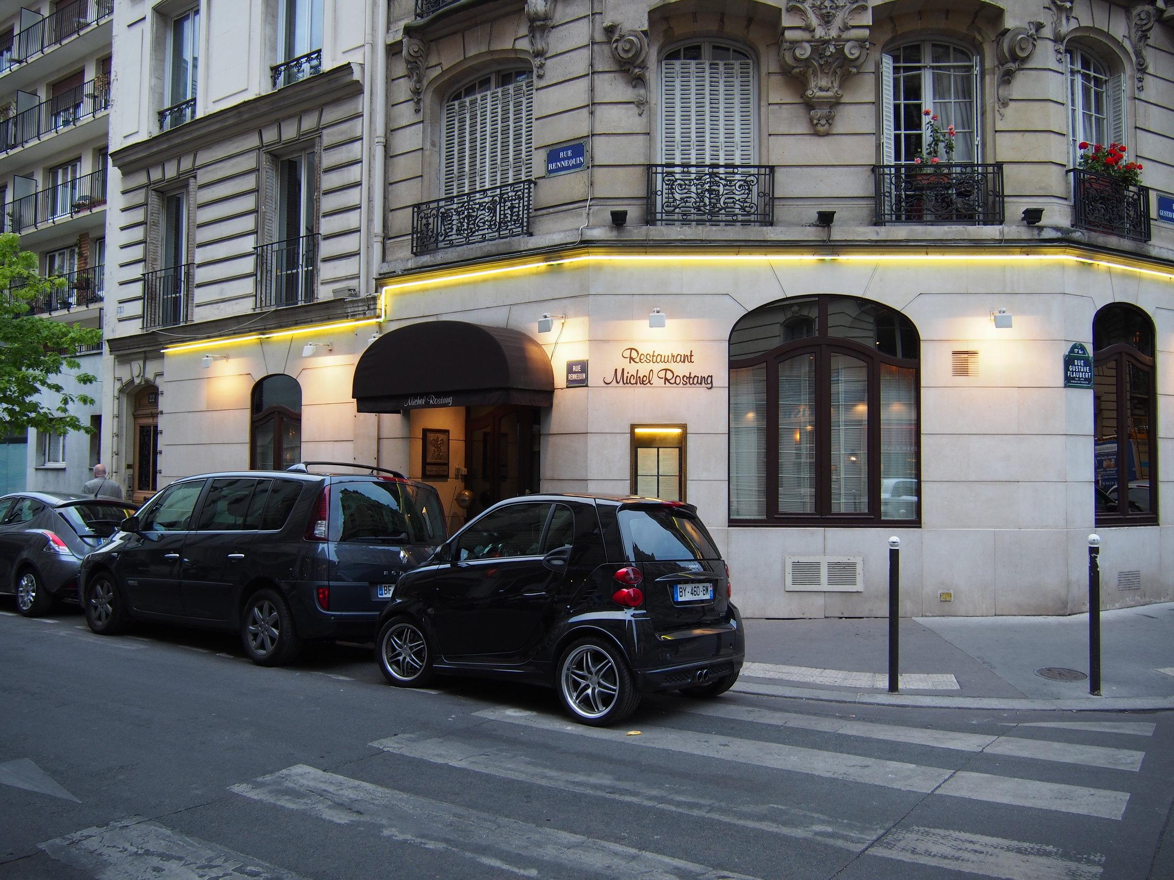Michel rostang paris go by st lsvik for Restaurant michel rostang