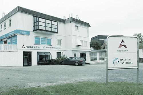 Bilde av klinikkens eksteriør