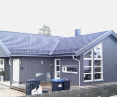 Arkitekt-tegnet  1- plans enebolig Ambjørnrød 2010