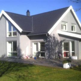 Arkitekttegnet bolig Bråtenfeltet, Begby 2012