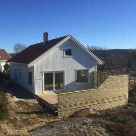 Arkitektegnet bolig bygget på Enghaugen Slevik 2017