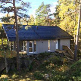 Ny hytte Fotenveien 58