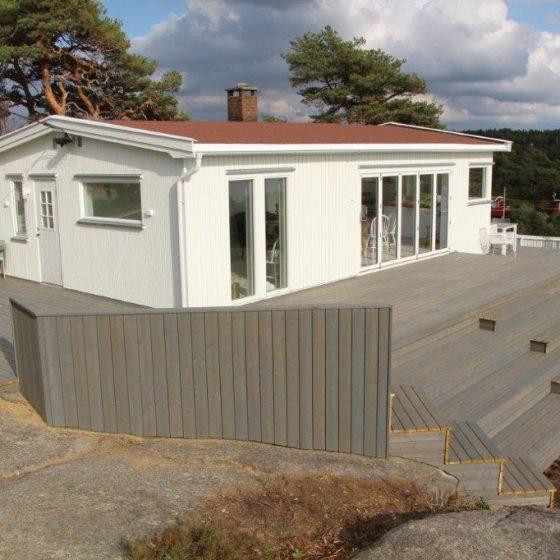 Ombygget hytte Enhus Kråkerøy 2018
