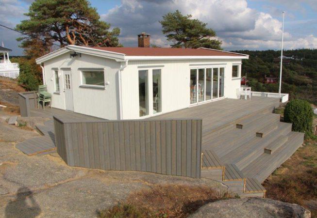 Ombygget hytte Kråkerøy 2018