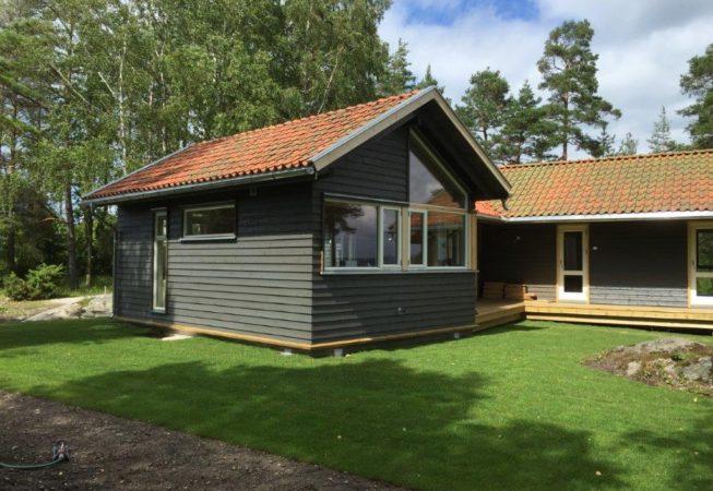 Restaurert hytte Larkollen 2017